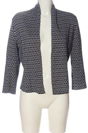 H&M Cardigan schwarz-weiß Allover-Druck Casual-Look