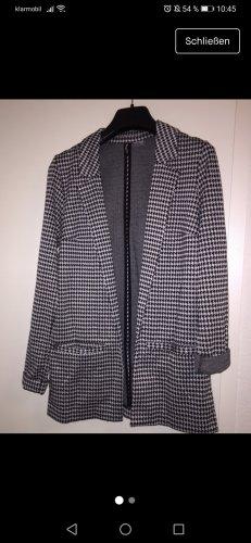 H&M Cardigan Blazer Hahnentritt Muster Gr. XS