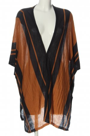 H&M Cardigan braun-schwarz Casual-Look