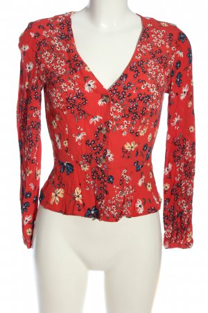 H&M Cardigan Allover-Druck Casual-Look