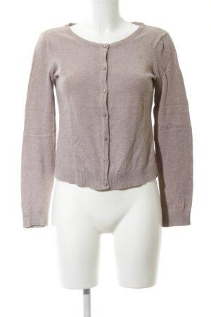 H&M Cardigan bronzefarben meliert Casual-Look