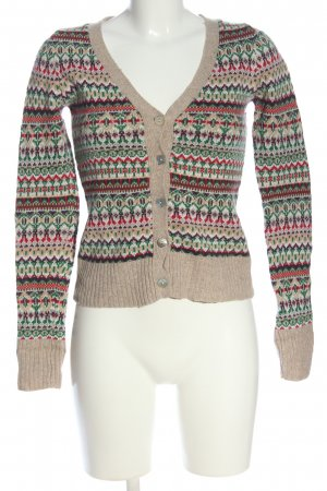 H&M Cardigan grafisches Muster Casual-Look