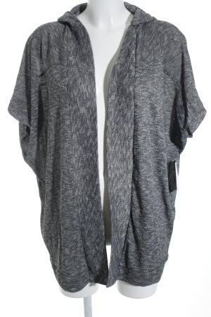 H&M Cardigan grau-hellgrau meliert klassischer Stil