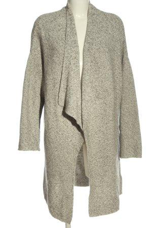 H&M Cardigan hellgrau meliert Casual-Look