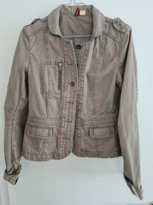 H&M Military Jacket sage green