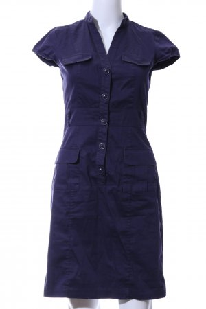 H&M Cargokleid blau Business-Look