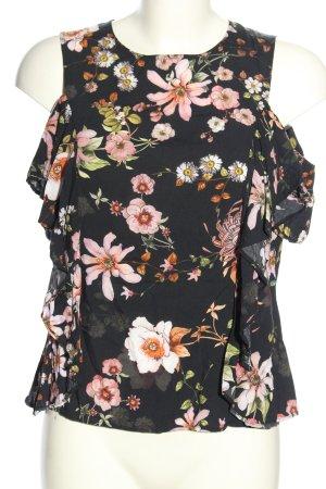 H&M Blusa alla Carmen stampa integrale stile casual