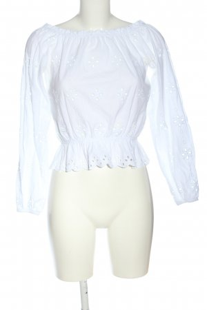 H&M Carmen blouse wit casual uitstraling