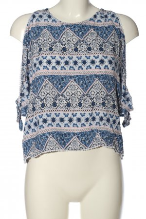 H&M Carmen-Bluse Mustermix Casual-Look