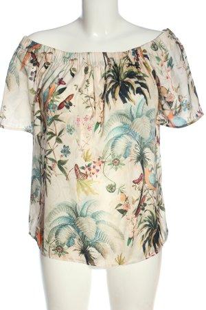 H&M Carmen Blouse allover print elegant
