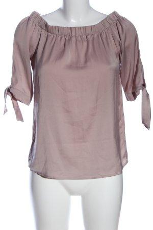 H&M Carmen-Bluse lila Elegant