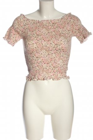 H&M Carmen-Bluse Allover-Druck Casual-Look