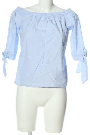 H&M Carmen-Bluse blau Casual-Look