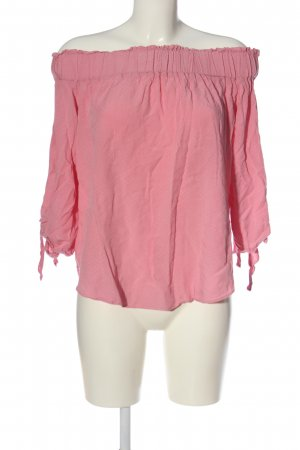 H&M Carmen blouse roze casual uitstraling