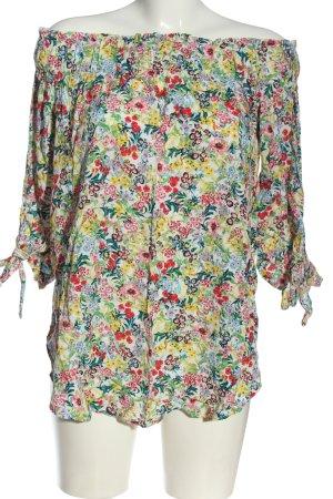 H&M Bluzka typu carmen Na całej powierzchni W stylu casual