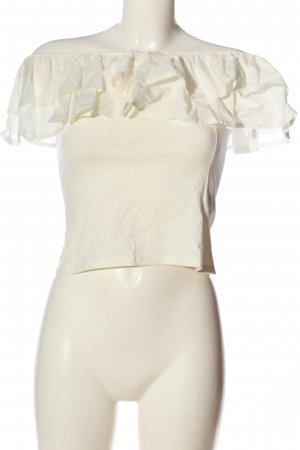 H&M Carmen Blouse white casual look