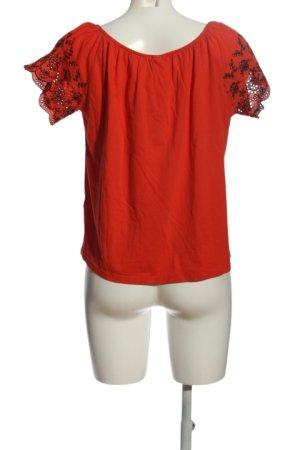 H&M Carmenshirt rot Casual-Look