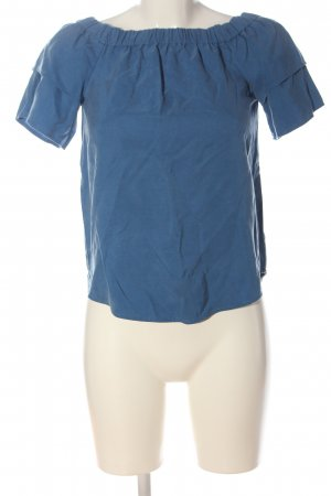 H&M Top épaules dénudées bleu style décontracté