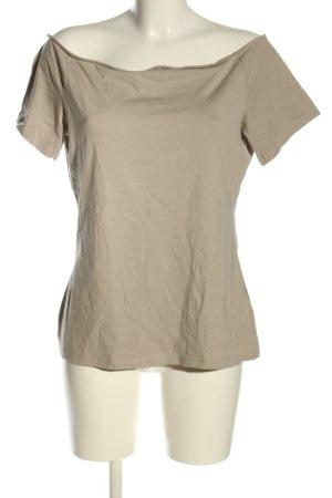 H&M Carmenshirt braun Casual-Look