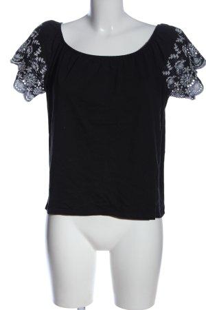 H&M Carmen Shirt black casual look