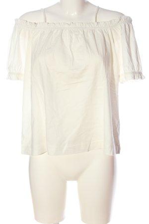 H&M Carmen shirt wit casual uitstraling