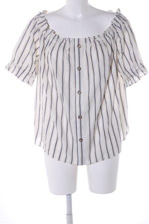H&M Carmen Shirt striped pattern casual look
