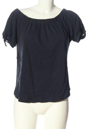 H&M Carmen Shirt blue casual look