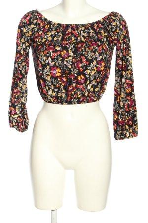 H&M Koszula typu carmen Na całej powierzchni W stylu casual