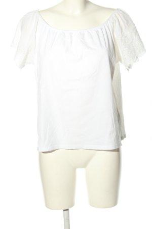 H&M Koszula typu carmen biały W stylu casual