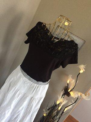 H&M Carmen shirt zwart