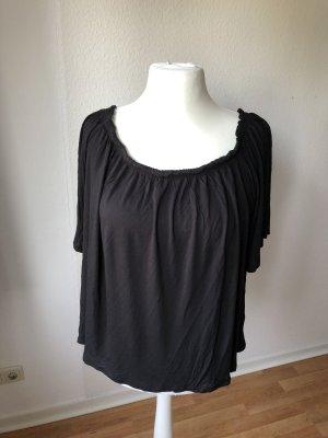 H&M Top épaules dénudées noir