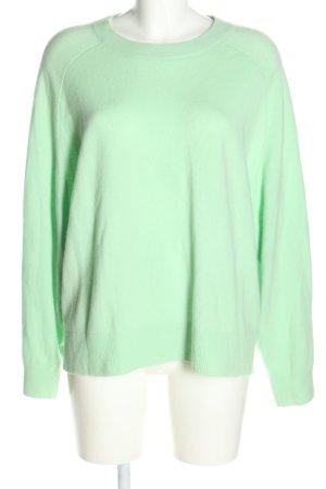 H&M Pull en cashemire vert style décontracté