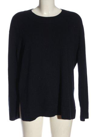 H&M Kaszmirowy sweter czarny W stylu casual