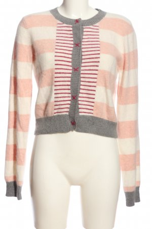 H&M Strickjacke Streifenmuster Casual-Look