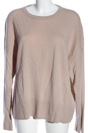 H&M Cashmerepullover nude Casual-Look