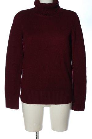 H&M Kaszmirowy sweter czerwony W stylu casual