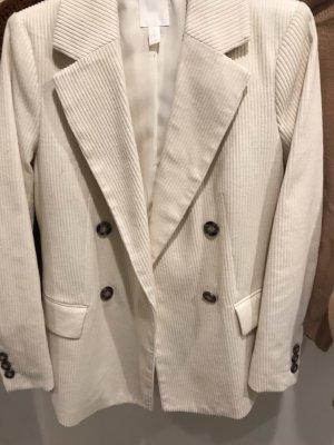 H&M Casual Velvet Blazer in 38 Neu