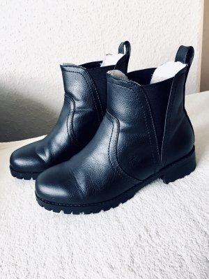 H&M Slip-on Booties black
