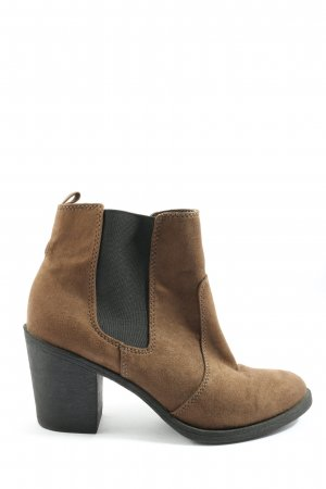 H&M Chelsea Boots braun Casual-Look