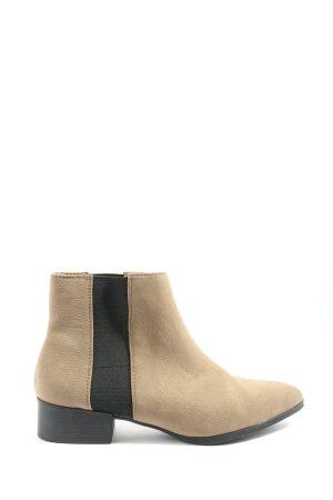 H&M Chelsea laarzen wolwit-zwart casual uitstraling