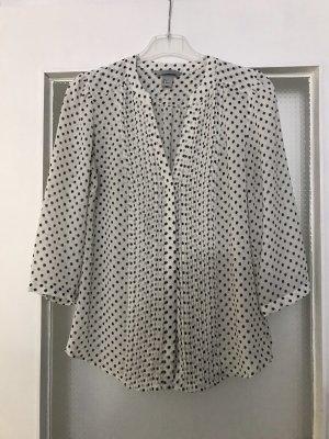 H&M Chiffon Hemd Bluse gepunktet