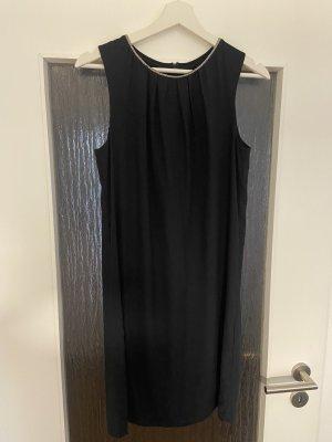 H&M Chiffon Dress dark blue