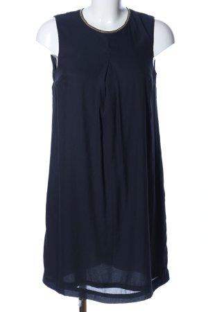 H&M Chiffonkleid blau Casual-Look
