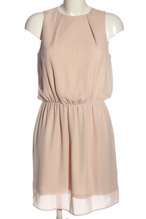 H&M Chiffonkleid nude Casual-Look