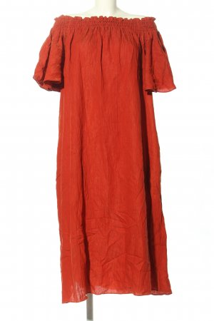 H&M Chiffonkleid rot Casual-Look