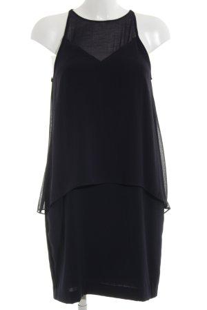 H&M Chiffon jurk zwart casual uitstraling