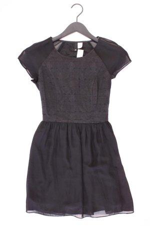 H&M Szyfonowa sukienka czarny Bawełna