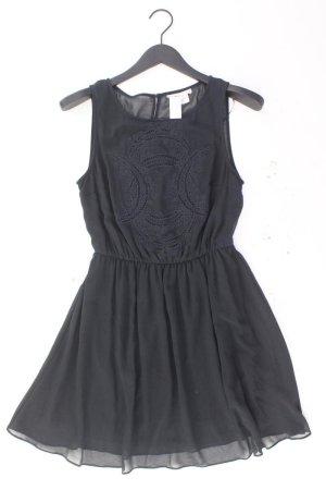 H&M Chiffonkleid Größe 38 Ärmellos blau aus Polyester