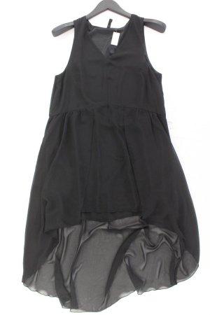 H&M Chiffonkleid Größe 38 Ärmellos schwarz