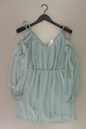 H&M Robe chiffon turquoise polyester